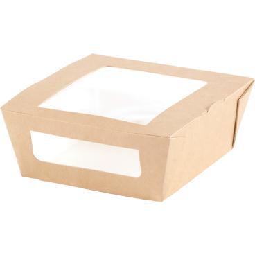 DUNI ecoecho™ Einweg-Pappbox mit Fenster, S