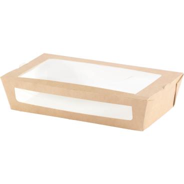 DUNI ecoecho™ Einweg-Pappbox mit Fenster, M