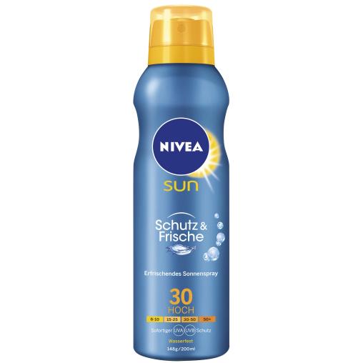 NIVEA® Sun Schutz & Frische Kühlendes Sonnenspray