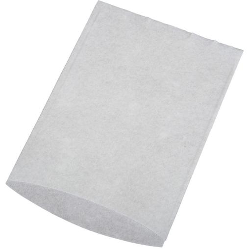 UNISAN Waschhandschuh, Vlies, weiß