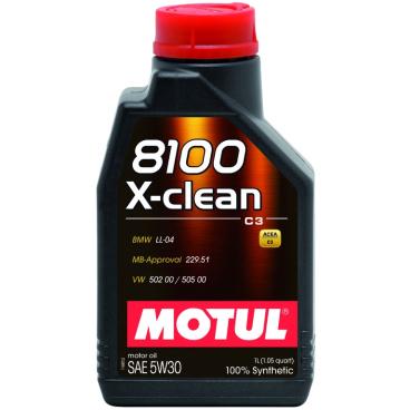 Motul 8100 X-clean 5W30 Motorenöl