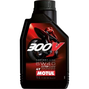 Motul 300 V 4T FL Road Racing 5W40 Motorenöl