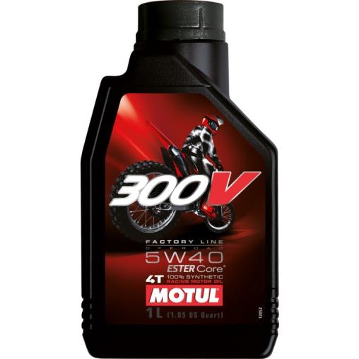 Motul 300 V 4T FL Off Road 5W40 Motorenöl