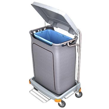 Cleankeeper Abfallsammelwagen II - 4 mit Fußpedal