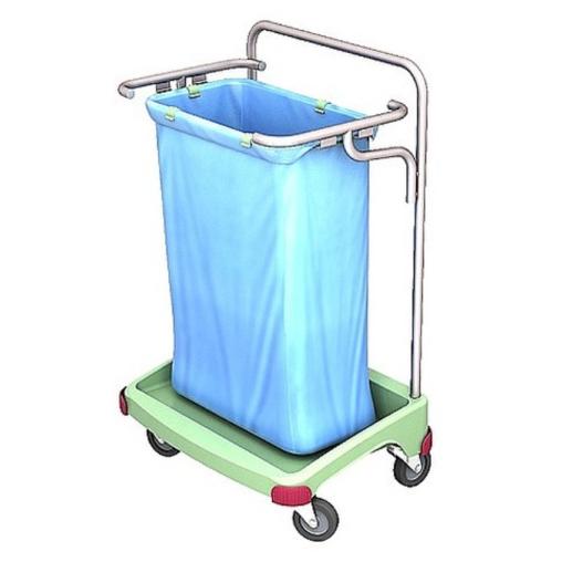 Cleankeeper Antibakterieller Abfallsammelwagen 1