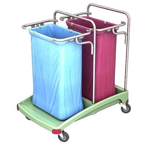 Cleankeeper Antibakterieller Abfallsammelwagen 5