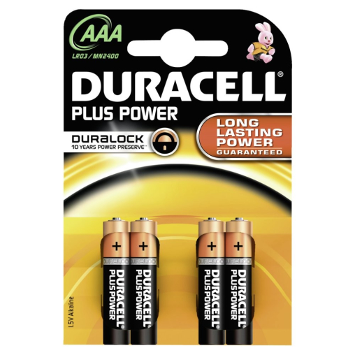 DURACELL Plus Power AAA – Duralock – 1,5 V