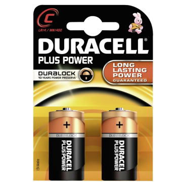 DURACELL Plus Power C – Duralock – 1,5 V