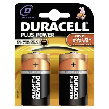 DURACELL Plus Power D – Duraclock – 1,5 V