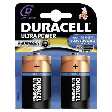 DURACELL Ultra Power D – Duralock – 1,5 V