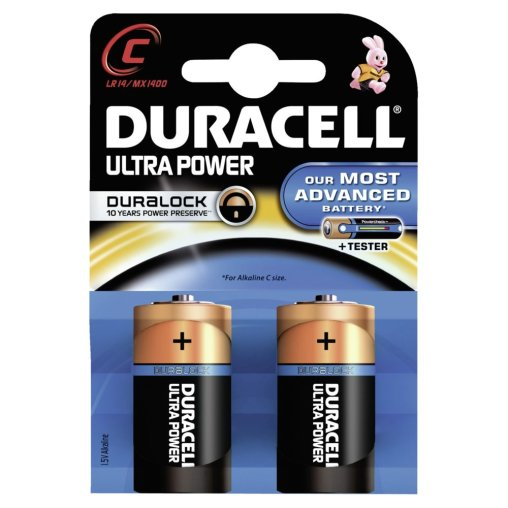 DURACELL Ultra Power C – Duralock – 1,5 V