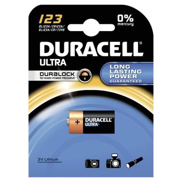 DURACELL Ultra Lithium 123 Photobatterie – 3 V