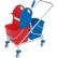 Cleankeeper Doppelfahreimer 10 mit Schiebegriff, verchromt