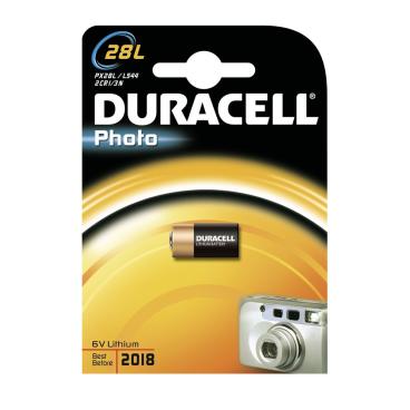 DURACELL Lithium 28L mit PowerCheck – 6 V Photobatterie