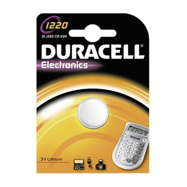 DURACELL Lithium 1220 Knopfzelle – 3 V