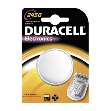 DURACELL Lithium 2450 Knopfzelle – 3 V
