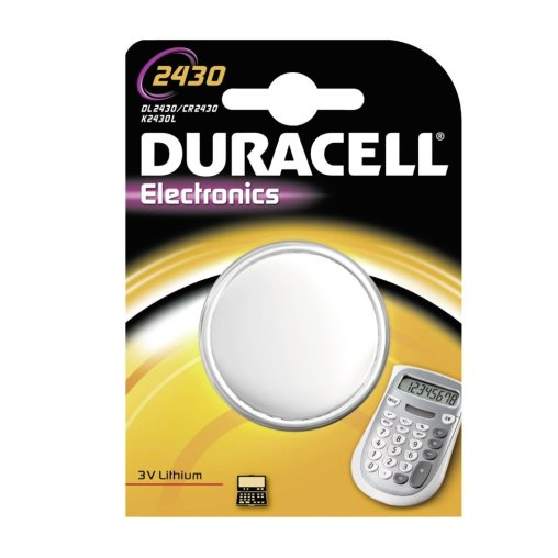 DURACELL Lithium 2430 Knopfzelle – 3 V
