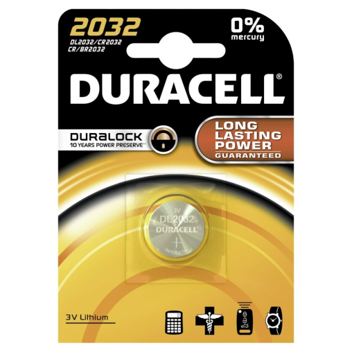 DURACELL Lithium 2032 Knopfzelle – 3 V