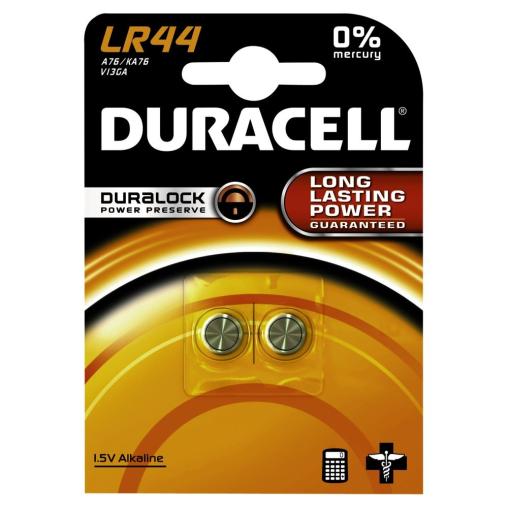 DURACELL LR44 Knopfzelle – 1,5 V