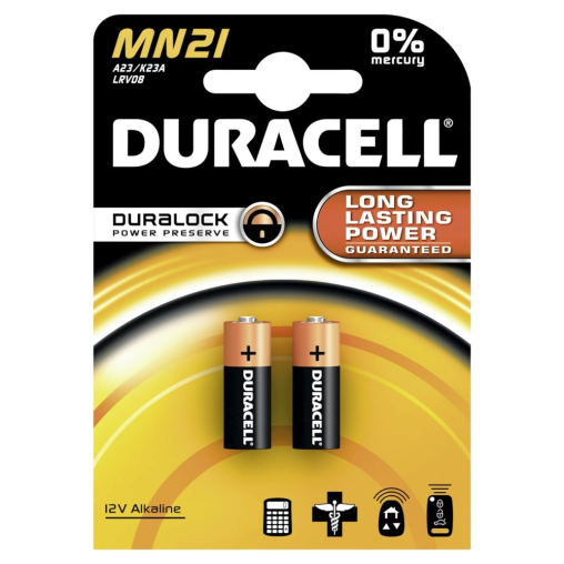 DURACELL Security Alkaline MN21 – 12 V