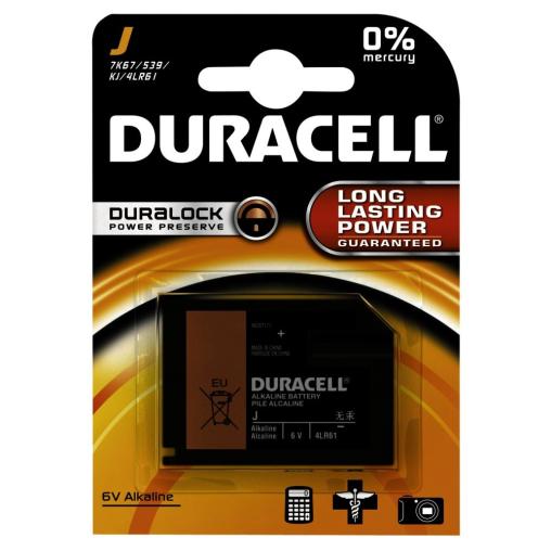 DURACELL J – Duralock – 6 V