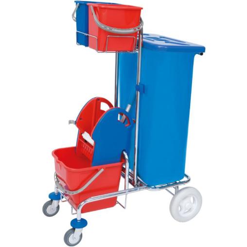 Cleankeeper Gerätewagen 2 stufengängig, verchromt