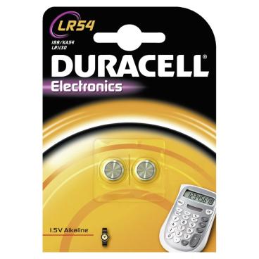 DURACELL LR54 Knopfzelle – 1,5 V