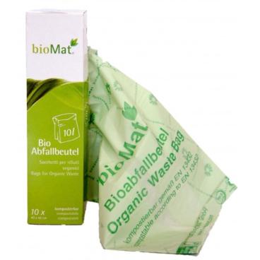 BIOMAT® Bioabfallbeutel in Faltschachtel, 10 Liter