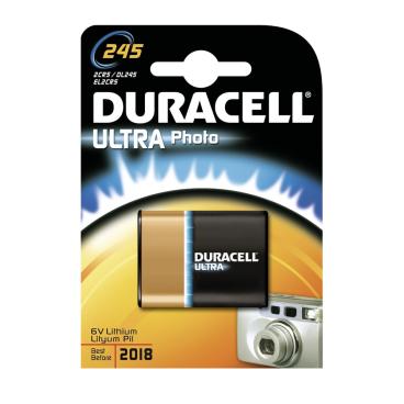 DURACELL Ultra Lithium 245 Photobatterie – 6 V