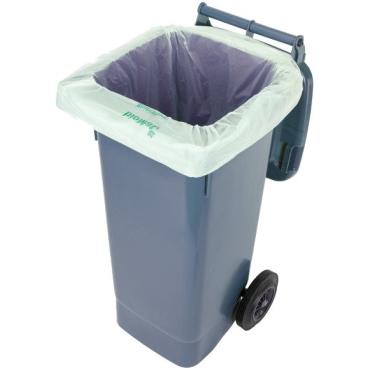 BIOMAT® Liner Abfallsack 240 Liter 1 Karton = 14 x 10 = 140 Abfallsäcke