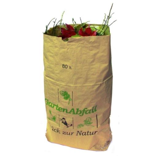 BIOMAT® Gartenabfallsäcke aus Kraftpapier 80-120 l