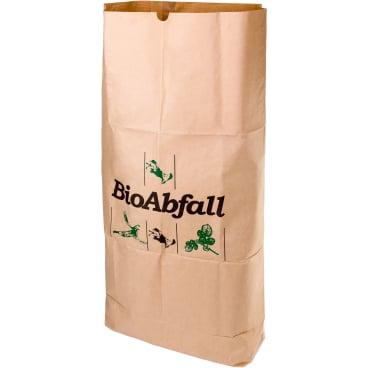 BIOMAT® Einstecksäcke aus Kraftpapier 240 Liter 1 Bündel = 25 Einstecksäcke