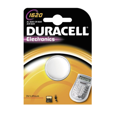 DURACELL Lithium 1620 B1 Knopfzelle – 3 V