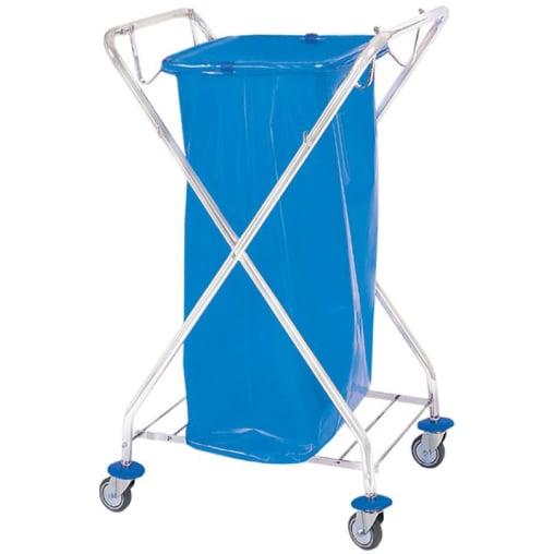 Cleankeeper Abfallwagen 1, verchromt