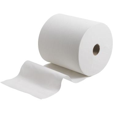 KLEENEX® Ultra Rollenhandtücher, weiß, 2-lagig 1 Paket = 6 Rollen à 130 m