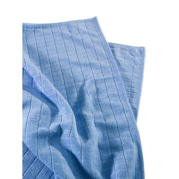 MEGA Clean Professional Mikrofaser Universal- und Bodentuch 1 Stück, Farbe: blau