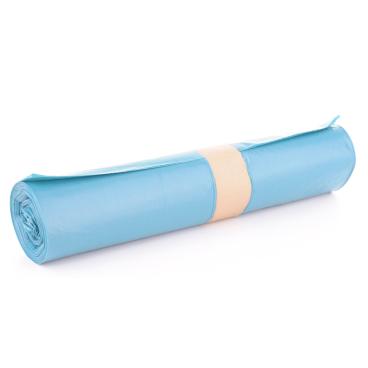 Müllsäcke 120 Liter, blau, Typ 60 1 Rolle = 25 Stück