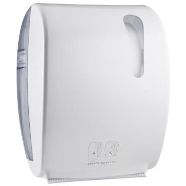 racon® designo easy Sensor Handtuchrollen-Spender Kunststoff, weiß