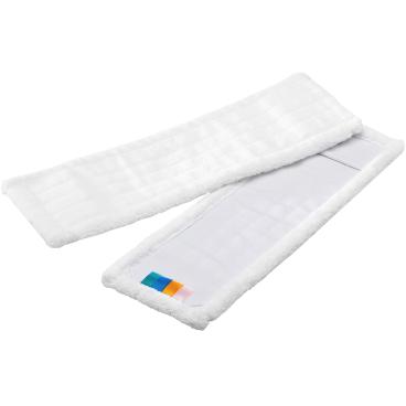 MEGA Clean Professional Mikrofaser Mop MEGA weiß MC 1 Packung = 10 Stück, Breite: 40 cm