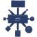 Vikan Kit für Metalldetektion, metall blau