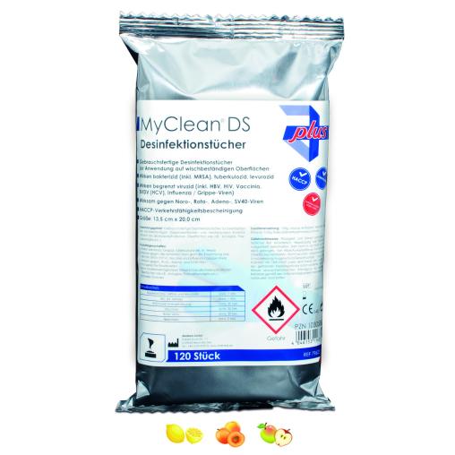 MyClean® DS Schnelldesinfektionstücher Refill