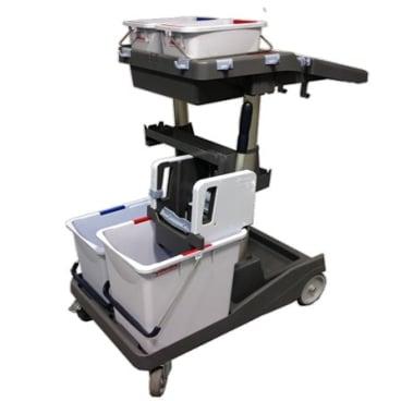 Vileda Professional Reinigungswagen VoleoPro, Komplettset