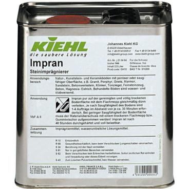 Kiehl Impran Imprägnier-Mittel 2,5 l - Blechkanister (1 Karton = 4 Kanister)