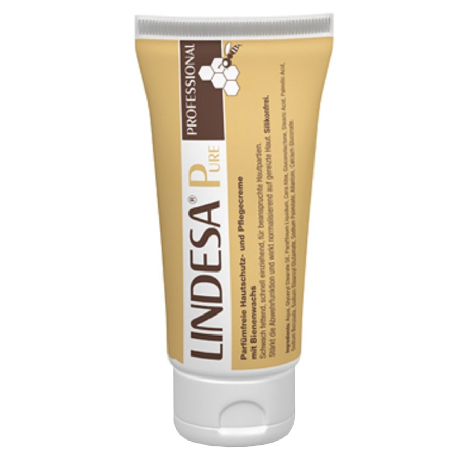 lindesa pure professional hautschutzcreme 100 ml tube. Black Bedroom Furniture Sets. Home Design Ideas