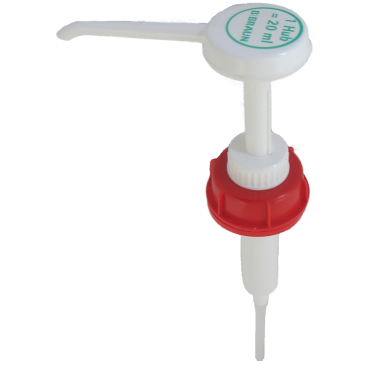B. Braun Dosierpumpe für 5 l - Kanister Hub: 20 ml