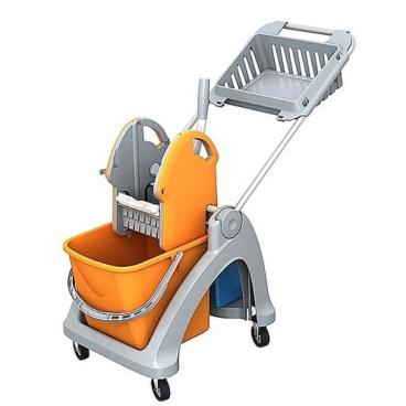 Cleankeeper Einfachfahrwagen 1 mit Deichsel
