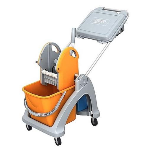 Cleankeeper Einfachfahrwagen 9 mit Deichsel