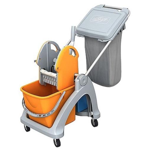 Cleankeeper Einfachfahrwagen 4 mit Deichsel