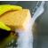 Spontex Quellschwämme aus Viskose 1 Packung = 10 Stück, Größe Midi (135x90x37 mm)
