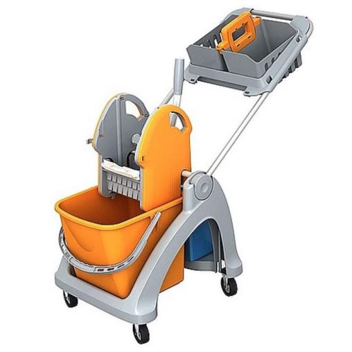Cleankeeper Einfachfahrwagen 2 mit Deichsel